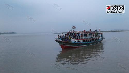 পাটুরিয়া-দৌলতদিয়া আরিচা-কাজিরহাট নৌরুটে লঞ্চ চলাচল শুরু