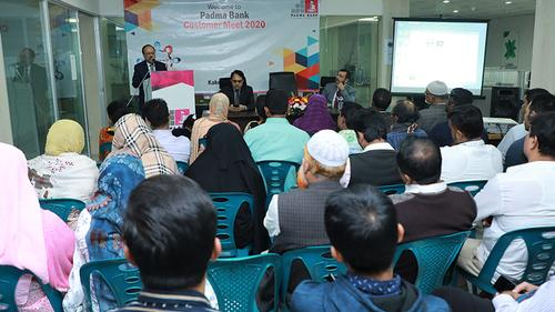 Padma Bank holds nationwide Customer Meet Programs with clients