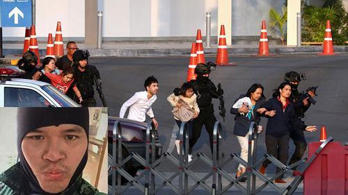 ২১ জনের হত্যাকারী থাই সেনা পুলিশের গুলিতে নিহত