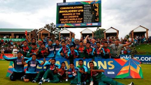 Young tigers win U19 cricket world cup
