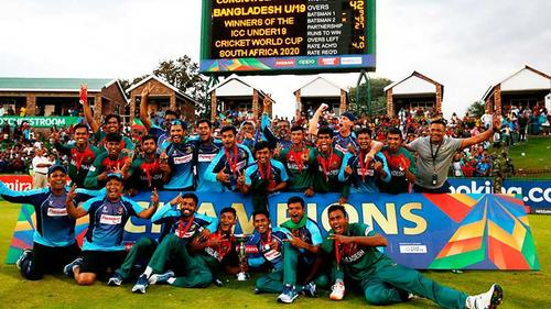 Former cricket greats congratulate Bangladesh young tigers