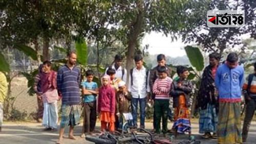 নান্দাইলে ট্রাকচাপায় মাদরাসা শিক্ষার্থী নিহত
