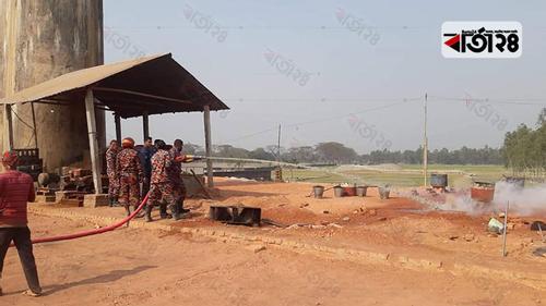 গাইবান্ধায় অবৈধভাবে ইটভাটা স্থাপন, জরিমানা ৩ লাখ টাকা