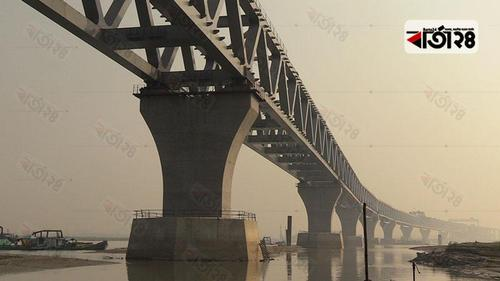 24th span of Padma Bridge installed making 3.60 kms visible