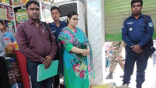 ঢাকা লিটন কনফেকশনারিতে ওজনে কারচুপি, জরিমানা