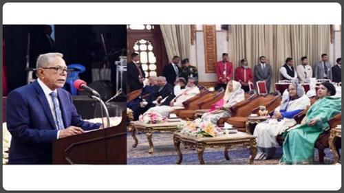 সংসদ সদস্যদের প্রতি জনগণের পাশে দাঁড়ানোর আহ্বান রাষ্ট্রপতির