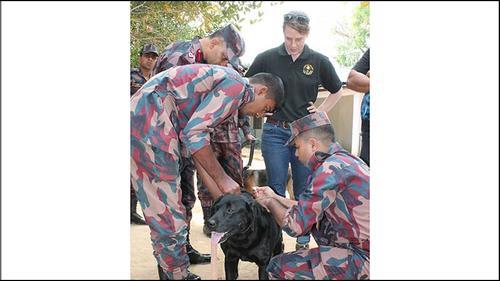 বিজিবি'র কে-নাইন ইউনিটের সহযোগী হলো যুক্তরাষ্ট্র দূতাবাস