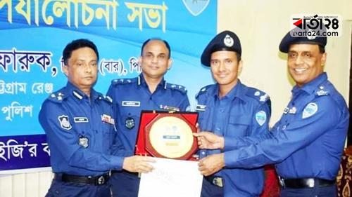 চট্টগ্রাম রেঞ্জের শ্রেষ্ঠ সার্কেল অফিসার ইমন