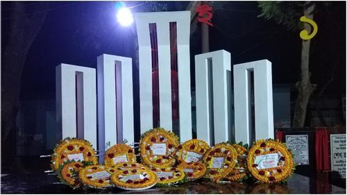 টাঙ্গাইলে উপজেলা পর্যায়ে প্রথম শহীদ মিনার উদ্বোধন