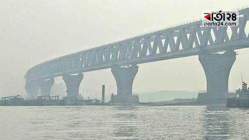 25th span of Padma Bridge installed on Language Martyrs day