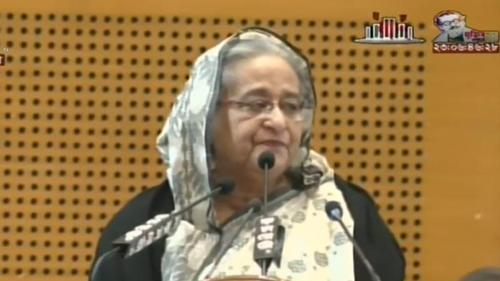 'I am grateful to the people of Bangladesh' Sheikh Hasina
