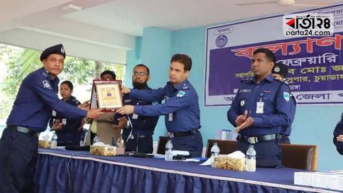 চুয়াডাঙ্গায় আবারো শ্রেষ্ঠ ওসি সাইফুল