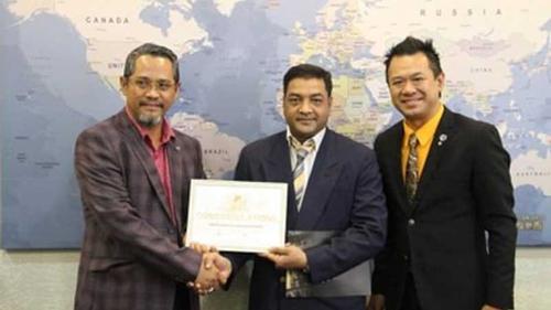 World Economic Group Elects Dr. Mizanur Rahman as the ambassador