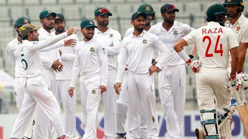 Bangladesh posts a big win against Zimbabwe