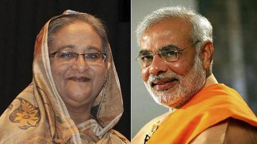 Modi extends New Year greetings to Sheikh Hasina