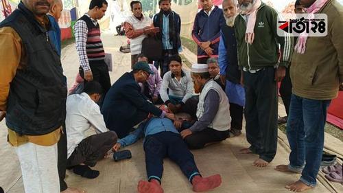 রাজশাহী জুটমিলে অনশনে আরও ৪ শ্রমিক অসুস্থ