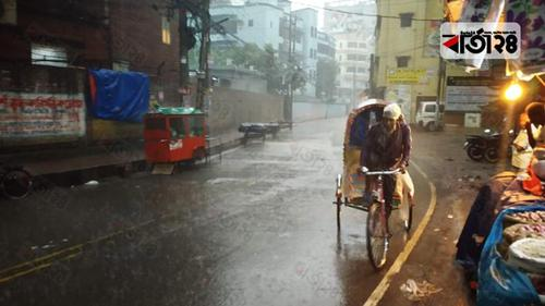 Cold wave with rain makes life miserable