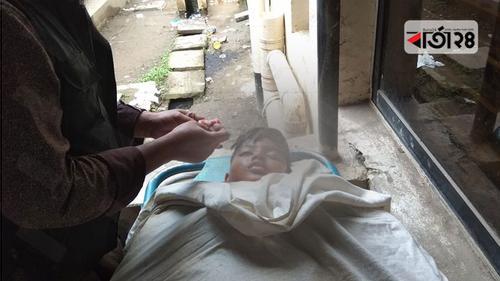 টাঙ্গাইলে বাসের ধাক্কায় ছেলে নিহত, মা হাসপাতালে