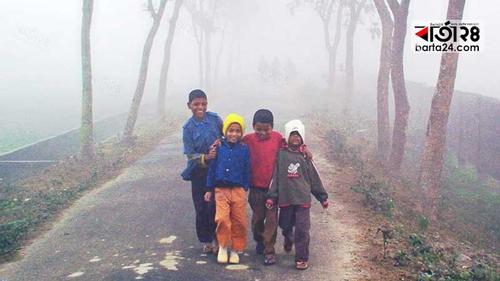 ফের শীতে জবুথবু রংপুর, কমেছে তাপমাত্রা