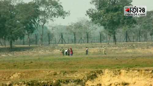 ঠাকুরগাঁও সীমান্তে বিএসএফের গুলিতে বাংলাদেশি নিহত