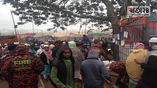 আখেরি মোনাজাতের অপেক্ষায় চলছে হেদায়েতি বয়ান