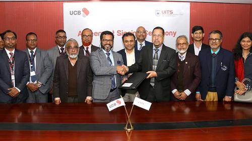 United Commercial Bank Limited signs agreement with UITS