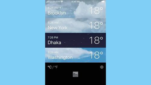 ঢাকা, নিউইয়র্ক, ওয়াশিংটনে একই তাপমাত্রা!