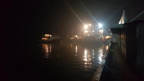 Dense fog forces suspension of ferry operation at Mawa