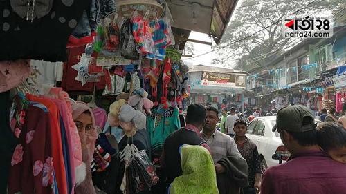 চট্টগ্রামে গরম কাপড়ের জহুর হকার্স মার্কেট