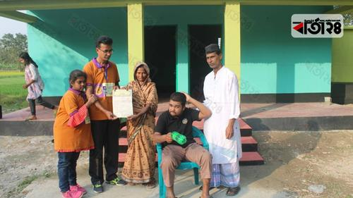 'শিকল বন্দী' শাকিলকে নতুন বাড়ি উপহার
