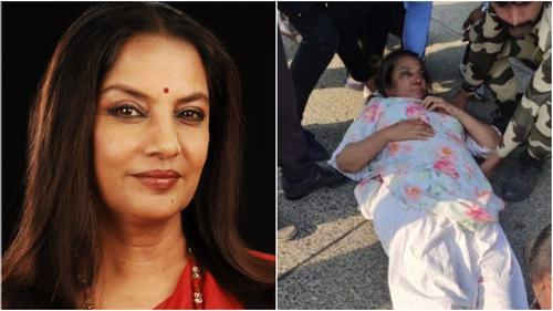 সড়ক দুর্ঘটনায় গুরুতর আহত অভিনেত্রী শাবানা আজমি