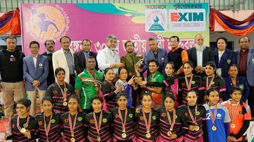 বঙ্গবন্ধু ৩০তম জাতীয় নারী হ্যান্ডবল চ্যাম্পিয়নশিপ অনুষ্ঠিত