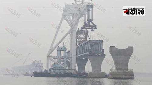 22nd span of Padma Bridge installed