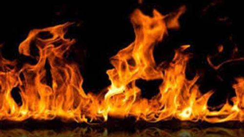 Fire incident occurs in a Mirpur slum