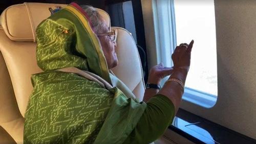 Prime Minister videos her dream Padma Bridge