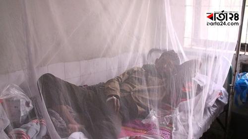 নাটোরে ডেঙ্গু আক্রান্ত এক ব্যক্তি হাসপাতালে
