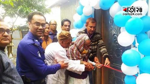 গোবিন্দগঞ্জে বৃদ্ধাশ্রমের নতুন ঘরে উঠলেন বৃদ্ধরা