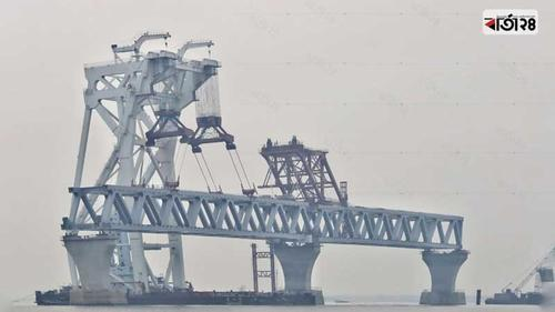23rd span of Padma Bridge will not be installed in January