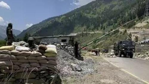 Tension prevails in Ladakh border