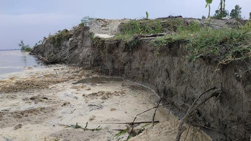 ফের তিস্তা নদীতে পানি বৃদ্ধি, দেখা দিয়েছে তীব্র ভাঙন