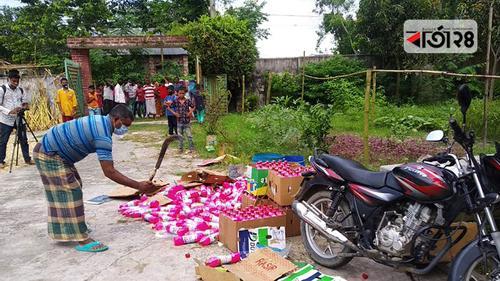 রংপুরে সাড়ে ৩ লাখ টাকার নকল সুরক্ষা সামগ্রী উদ্ধার