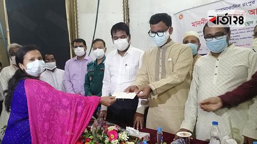 প্রধানমন্ত্রীর আর্থিক সহায়তা পেল রংপুর বিভাগের সাংবাদিকরা