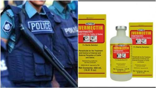 Cops getting effective results using 'Ivermectin' drug