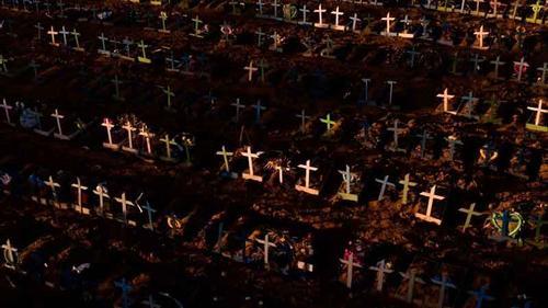 ব্রাজিলে করোনায় মৃতের সংখ্যা ছাড়াল ৫০ হাজার
