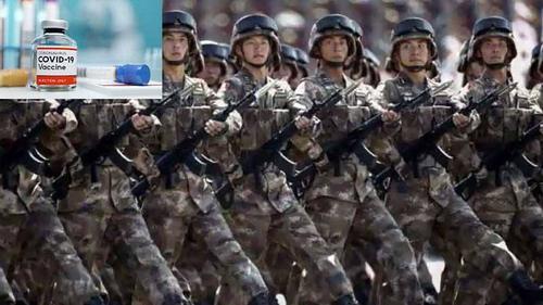 সামরিক বাহিনীকে ভ্যাকসিন ব্যবহারের অনুমোদন দিলো চীন