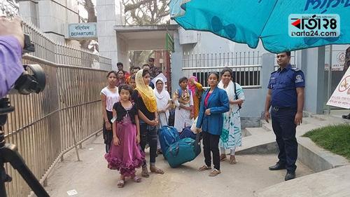 ভারতে পাচার ১০ শিশু-কিশোরীকে ফেরত