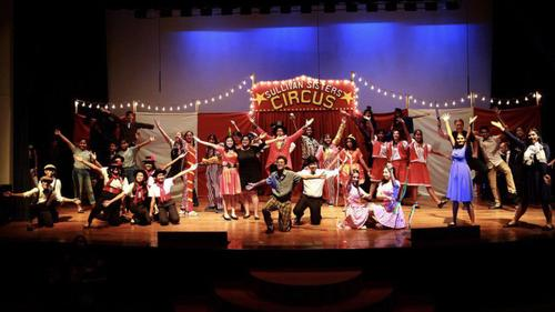 Sullivan sister's circus takes center stage in ISD