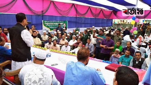একবার সুযোগ দিন, উন্নয়নকে বেগবান করবো: রেজাউল
