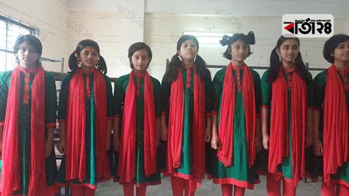 রংপুরে শুদ্ধ সুরে জাতীয় সংগীত পরিবেশন প্রতিযোগিতা