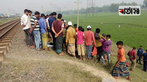 টাঙ্গাইলে ট্রেনে কাটা পড়ে অজ্ঞাত কিশোর নিহত